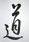Japanese Character for 'MICHI'