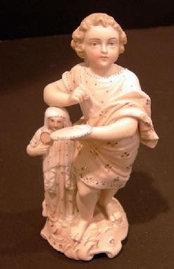 19th c. German Bisque Figural Group - Volkstedt