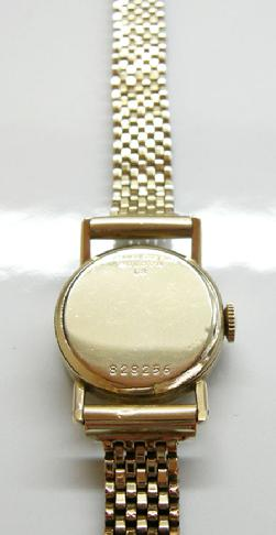 Vintage Ladies Original 'Lady Berkshire' Watch - 1953 - Back View