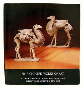 Sotheby Parke Bernet Auction Catalogue Chinese WOA